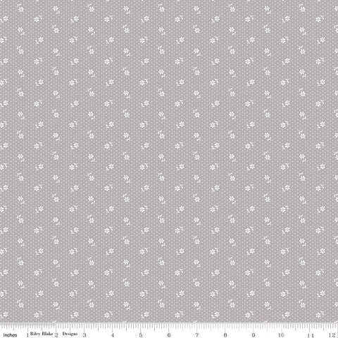 COMING SOON! Majestic Gray Dot Print (C8145 Gray)