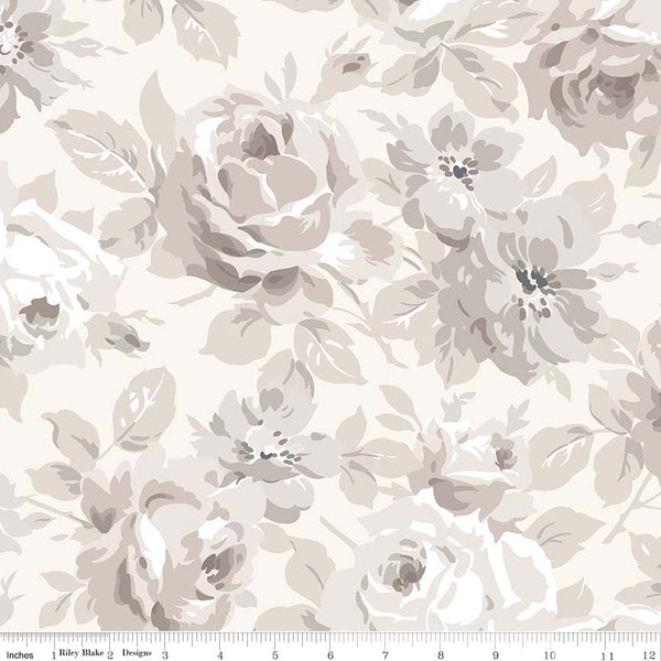 NEW! Cream Serenity Main Print (C8810 Cream)