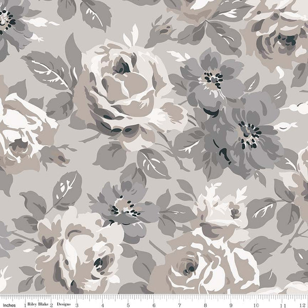 NEW! Taupe Serenity Main Print (C8810 Taupe)