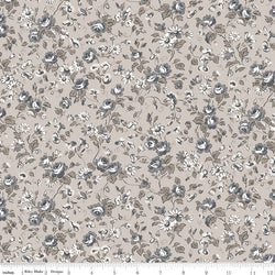 NEW! Taupe Serenity Viney Roses Print (C8812 Taupe)