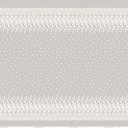 NEW! Taupe Serenity Border Print (C8817 Taupe)