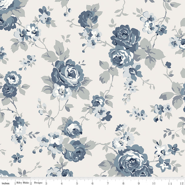 NEW!  Cream Tranquility Main Print (C9600 Cream)