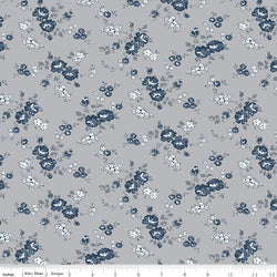 COMING SOON! Gray Tranquility Rose Spray Print (C9602 Gray)