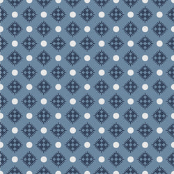 Charming Navy Diamonds Print (C6656 Navy)