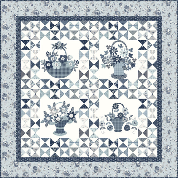 NEW!  Petits Paniers Quilt Kit