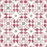 NEW!  Rustic Romance Booklet Quilt Pattern