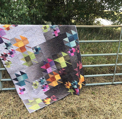 NEW!  Gem Stones Fall Breeze Quilt Kit!