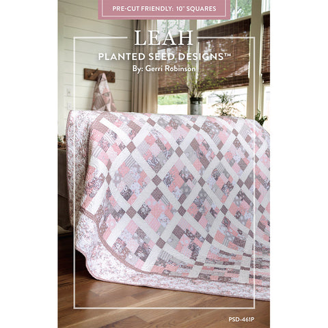 New! Leah Quilt Pattern (PSD-461P)