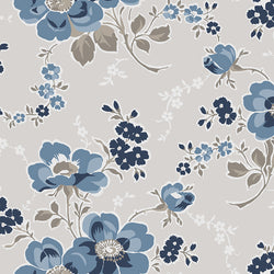 Charming Taupe Main Floral Print (C6650 Taupe)