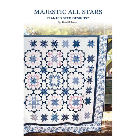 Majestic All Stars Quilt Pattern (PSD-471P)