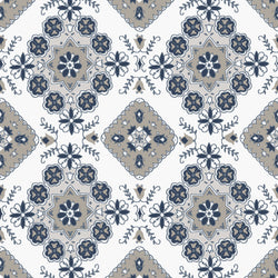 Charming Taupe Medallion Print (C6653 Taupe)