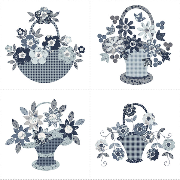 COMING SOON! Tranquility Basket Panel 1 (P9609-1)
