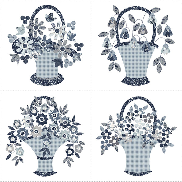 COMING SOON! Tranquility Basket Panel 2 (P9609-2)