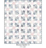 NEW! Majestic Sampler Quilt Pattern (PSD-467P)