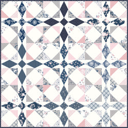 "NEW! ""Majestic"" PDF Quilt Pattern"