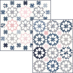 "NEW! ""Shadow Stars and Twinkling Stars"" PDF Quilt Patterns"
