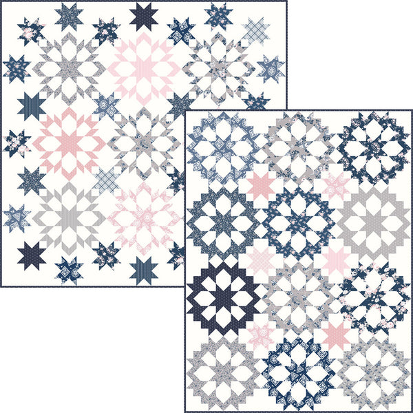 "COMING SOON! ""Shadow Stars and Twinkling Stars"" PDF Quilt Patterns"