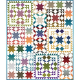 "COMING SOON! ""Gem Stones Star Sampler"" PDF Quilt Pattern"