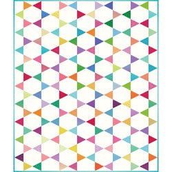 Design 1:  Triangle-in-a-Square Quilt Kit!