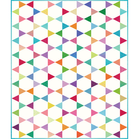 NEW! Design 1:  Triangle-in-a-Square Quilt Kit!