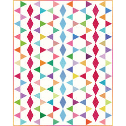 Design 2:  Triangle-in-a-Square Quilt Kit!