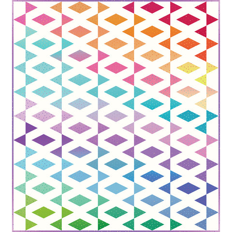 NEW Design 3:  Triangle-in-a-Square Quilt Kit!