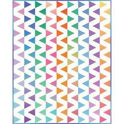 Design 4:  Triangle-in-a-Square Quilt Kit!