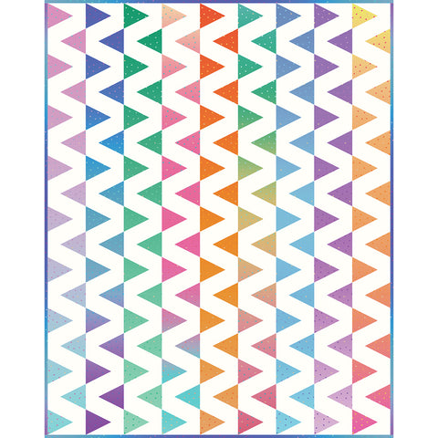 NEW! Design 4:  Triangle-in-a-Square Quilt Kit!