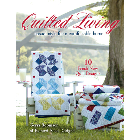 """Quilted Living"" Book"