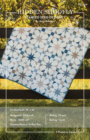 Flutter And Hidden Shoofly Pdf Quilt Patterns Planted Seed Designs