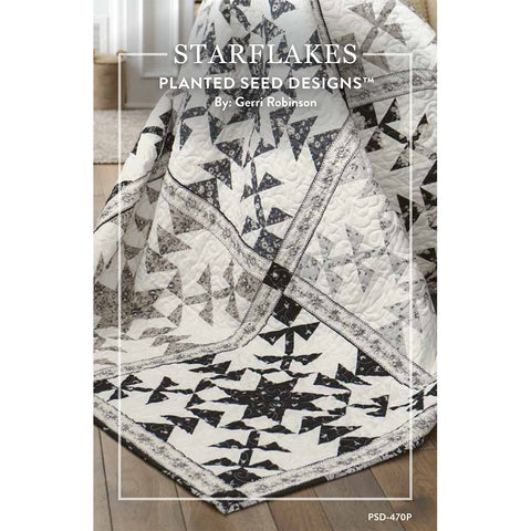 NEW! Starflakes Quilt Pattern (PSD-470P)