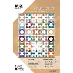 Criss Cross Stars and Starlights Quilt Patterns (PSD2-005P)