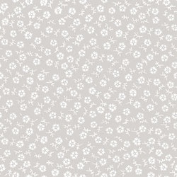 Charming Taupe Tossed Print (C6657 Taupe)