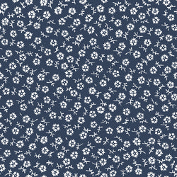 Charming Navy Tossed Print (C6657 Navy)