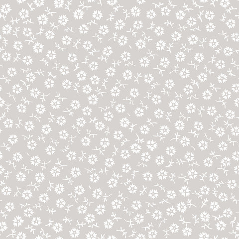 NEW!  Charming Taupe Tossed Print - C6657-TAUPE