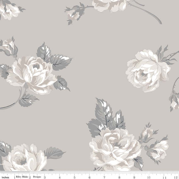 "Serenity 108"" Wide Back Taupe Print (WB8818 Taupe)"