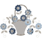 Blooming Baskets, Blooming Basket Stars and SEVEN Applique Patterns