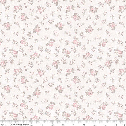 New! Rose Garden Cream Garden Print (C7683 Cream)