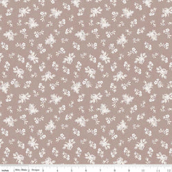 New! Rose Garden Taupe Garden Print (C7683 Taupe)