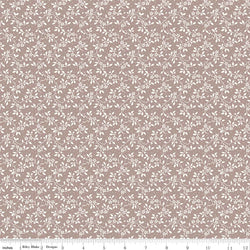 New! Rose Garden Taupe Vine Print (C7684 Taupe)
