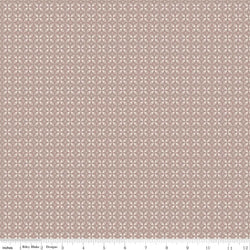 New! Rose Garden Taupe Circle Print (C7687 Taupe)