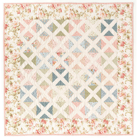 Cottage Trellis PDF Quilt Pattern