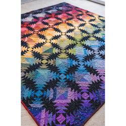 NEW!  Pineapple Sunset Quilt Quilt Kit (RULER NOT INCLUDED)!