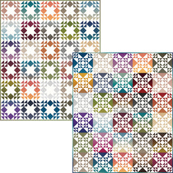 "NEW! ""Criss Cross Stars and Starlights"" PDF Quilt Patterns"