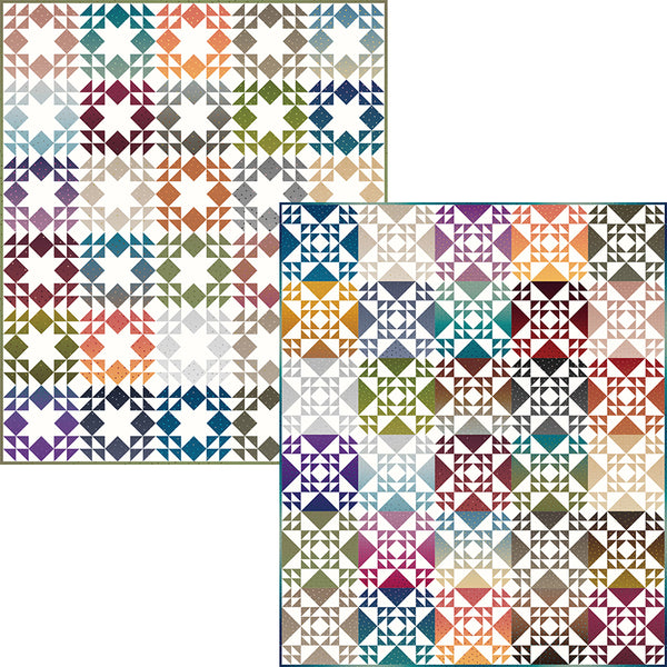 "COMING SOON! ""Criss Cross Stars and Starlights"" PDF Quilt Patterns"