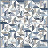 "NEW!  ""Windmills"" PDF Quilt Pattern"