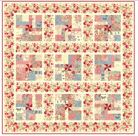 """Breathless"" PDF Quilt Pattern"