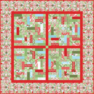 """Flurry"" PDF Quilt Pattern"