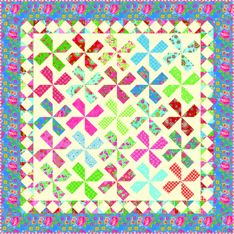 """Gypsy Girl"" PDF Quilt Pattern"