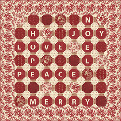 """Holiday Sentiments"" PDF Quilt Pattern"